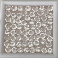 Горный хрусталь овал средний вес 16 карат, размер 20х15мм (quartz0021)
