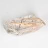 Кварц с включениями октагон вес 24.45 карат, размер 22.5х14.4мм (quartzinc0034)