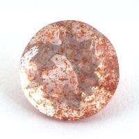 Земляничный кварц круг вес 2.26 карат, размер 8.9х8.8мм (quartzinc0049)