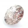 Земляничный кварц круг вес 2.51 карат, размер 9.65х9.45мм (quartzinc0051)