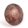 Земляничный кварц круг вес 2.83 карат, размер 9.8х9.6мм (quartzinc0054)
