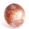 Земляничный кварц круг вес 4.42 карат, размер 11.2х11.2мм (quartzinc0055)