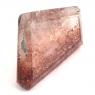Земляничный кварц фантазийной формы вес 9.83 карат, размер 14.7х13мм (quartzinc0062)