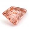 Земляничный кварц фантазийной формы вес 6.35 карат, размер 18.3х11.3мм (quartzinc0063)