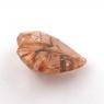 Кварц с включениями сердце вес 2.91 карат, размер 10.8х10.7мм (quartzinc0066)