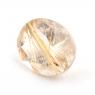 Кварц с включениями овал вес 3.03 карат, размер 10.9х9мм (quartzinc0068)