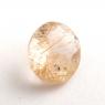 Кварц с включениями овал вес 2.74 карат, размер 11.1х9мм (quartzinc0076)