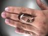 Кварц с включениями турмалина кабошон овал, вес 42.42 карат, размер 33.6х19мм (quartzinct0028)