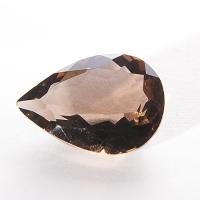 Раухтопаз (дымчатый кварц) груша  вес 6.2 карат, размер 16х12мм (rauh0004)