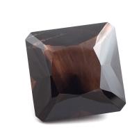 Раухтопаз (дымчатый кварц) квадрат вес 148.3 карат, размер 33.8х33.7мм (rauh0028)