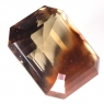 Раухтопаз (дымчатый кварц) октагон вес 108.2 карат, размер 31.6х26.8мм (rauh0034)