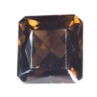 Раухтопаз (дымчатый кварц) октагон вес 57.04 карат, размер 24.8х23.7мм (rauh0037)