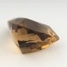 Раухтопаз (дымчатый кварц) триллион, вес 45.75 карат, размер 25.1х24.8мм (rauh0046)