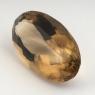 Раухтопаз (дымчатый кварц) овал, вес 42.4 карат, размер 31.6х18.6мм (rauh0051)