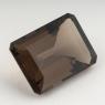 Раухтопаз (дымчатый кварц) октагон, вес 34.56 карат, размер 24.7х17.9мм (rauh0058)