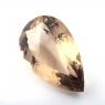 Раухтопаз (дымчатый кварц) груша, вес 90.15 карат, размер 45х25.7мм (rauh0059)