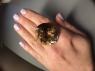 Раухтопаз (дымчатый кварц) овал, вес 85.04 карат, размер 30.2х28.1мм (rauh0060)