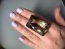 Раухтопаз (дымчатый кварц) октагон, вес 96.2 карат, размер 35.9х21.7мм (rauh0061)