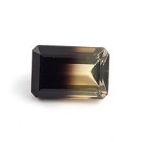 Цитрин-раух октагон вес 44.53 карат, размер 25.9х17.7мм (rautr0011)