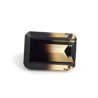 Цитрин-раух октагон вес 38.56 карат, размер 25х18мм (rautr0012)
