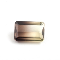 Цитрин-раух октагон вес 28.89 карат, размер 23.8х16мм (rautr0013)