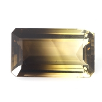Цитрин-раух октагон вес 44.1 карат, размер 28.7х17мм (rautr0014)