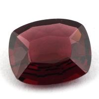 Гранат родолит формы антик, вес 4.68 карат, размер 12.3х10.2мм (rhod0079)