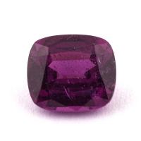 Пурпурный гранат родолит формы антик, вес 1.68 карат, размер 7.2х6.3мм (rhod0100)