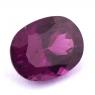 Пурпурный гранат родолит формы овал, вес 2.83 карат, размер 9.4х7.2мм (rhod0102)