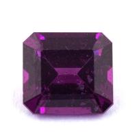 Пурпурный гранат родолит формы октагон, вес 2.19 карат, размер 7.5х6.8мм (rhod0105)