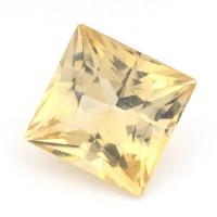 Жёлтый скаполит квадрат вес 1.92 карат, размер 7.6х7.5мм (sc0008)