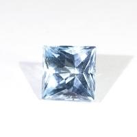 Топаз голубой российской огранки квадрат 9.3 карат (sky0040)
