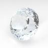 Бледно-голубой топаз отличной российской огранки круг, вес 16.04 карат, размер 14.3х14.2мм (sky0095)