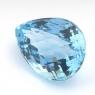 Небесно-голубой топаз груша, вес 41.6 карат, размер 24.2х17.8мм (sky0097)
