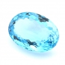 Небесно-голубой топаз овал, вес 34.58 карат, размер 23.2х16.4мм (sky0101)