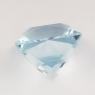 Небесно-голубой топаз отличной российской огранки формы квадрат, вес 8.98 карат, размер 11.2х11.2мм (sky0106)