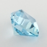 Небесно-голубой топаз отличной российской огранки формы триллион, вес 7.49 карат, размер 12.1х12мм (sky0117)