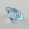 Небесно-голубой топаз отличной российской огранки формы квадрат, вес 5.2 карат, размер 9.1х9мм (sky0123)