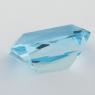 Небесно-голубой топаз отличной российской огранки формы октагон, вес 8.92 карат, размер 14.5х9.2мм (sky0125)