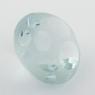 Бледно-голубой топаз огранки водоворот формы круг, вес 7.68 карат, размер 11.6х11.5мм (sky0126)