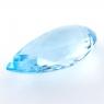 Небесно-голубой топаз формы груша, вес 36.78 карат, размер 27.7х17.3мм (sky0141)