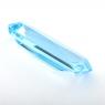 Небесно-голубой топаз российской огранки формы октагон, вес 22.19 карат, размер 27.5х10мм (sky0149)
