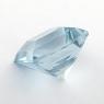 Небесно-голубой топаз российской огранки формы квадрат, вес 8.88 карат, размер 11.1х11.1мм (sky0151)