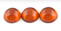 Гранат спессартин комплект кругов вес 10.73 карат, размер 9.3х9.3мм (spes0007)