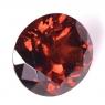Красно-оранжевый гранат спессартин овал вес 5.29 карат, размер 10.8х9.5мм (spes0036)