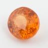 Оранжевый гранат спессартин овал, вес 2.91 карат, размер 8.4х7.4мм (spes0058)
