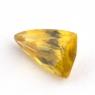 Золотистый сфен триллион вес 0.99 карат, размер 8.3х5.1мм (sphene0030)