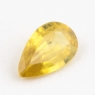 Золотистый сфен груша вес 0.42 карат, размер 6.7х4.2мм (sphene0038)