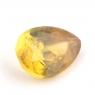 Золотистый сфен груша вес 0.72 карат, размер 6.7х4.9мм (sphene0039)