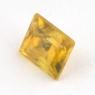 Золотистый сфен багет вес 0.62 карат, размер 4.7х4мм (sphene0049)
